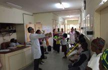 no hospital de Maputo