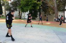 Kickboxing ao ar livre (2)