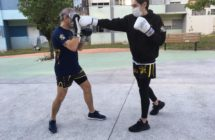 Kickboxing ao ar livre